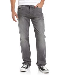 7 For All Mankind Standard Straightleg Jeans - Lyst