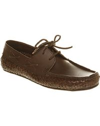 H by Hudson Ss11 Cabbana Woven Boat S - Lyst