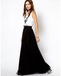 Lipsy - Mango Full Pleated Maxi Skirt - Lyst