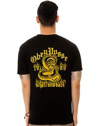 Obey The Death Valley Tee - Lyst