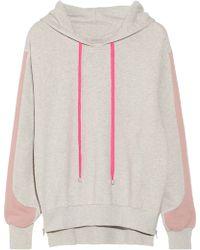 Preen Line - Whisper Cotton-terry Hooded Sweatshirt - Lyst