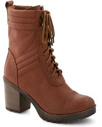ModCloth New On The Zine Boot - Lyst