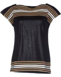 Gucci Short Sleeve Sweater - Lyst