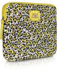 Juicy Couture - Leopard Print Neoprene Ipad Zip Around Case - Lyst