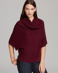 Adrianna Papell - Dolman Sleeve Jumper with Removable Cowl Neck - Lyst