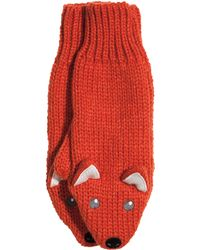 H&M - Knitted Mittens - Lyst