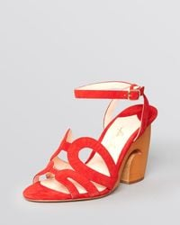Isa Tapia Sandals Carmen High Heel - Lyst