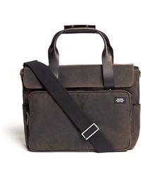 Jack Spade - Waxed Cotton Survey Bag - Lyst
