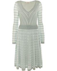 Temperley London Daisy Ribbon V-Neck Dress - Lyst