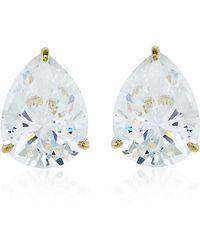 Carat* - 1ct Pear Cut Stud Earrings - Lyst