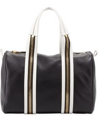 Tom Ford Amber Pebbled Leather Medium Boston Bag - Lyst