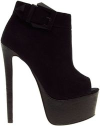 Asos Tooting Shoe Boots - Lyst