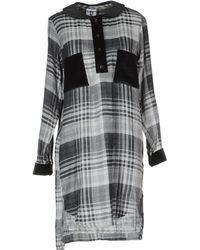 B Store Short Dress multicolor - Lyst