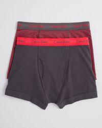 Calvin Klein Boxer Briefs Pack Of 2 - Lyst