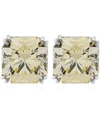 Carat* - Double Prong Solitaire Stud Earrings - Lyst