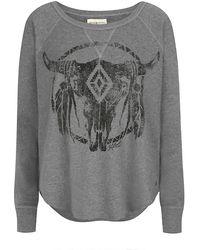 Denim & Supply Ralph Lauren - Open Neck Bull Sweatshirt - Lyst