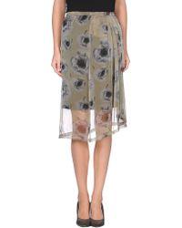 Dries Van Noten 34 Length Skirt - Lyst