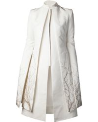 Gareth Pugh Tree Embroidered Coat - Lyst