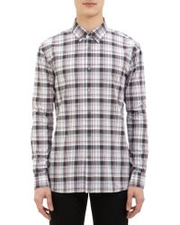 John Varvatos Plaid Shirt - Lyst