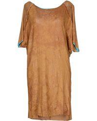 Mariagrazia Panizzi Short Dress - Lyst