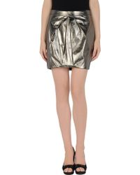 Pinko Mini Skirt - Lyst