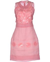 Rue du Mail Short Dress - Lyst