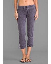 Splendid Spacedyed Heather Active Sweatpant in Slate - Lyst