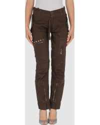 Studs War Casual Trouser - Lyst