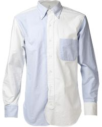 Black Fleece By Brooks Brothers - Oxford Fun Shirt - Lyst