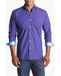 Bogosse Berry Trim Fit Sport Shirt - Lyst