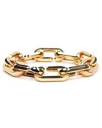 Cast Of Vices The Hexagon Link Bracelet - Lyst