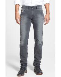 Diesel Thavar Skinny Fit Jeans - Lyst