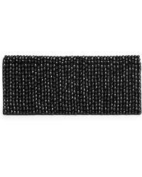 La Regale Sparkle Beads Evening Clutch - Lyst