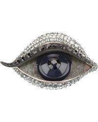 Lanvin Right Eye Brooch - Lyst
