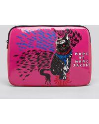 Marc By Marc Jacobs Laptop Case Rue Cat Coated Neoprene 13