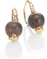 Phillips House - Labradorite 14k Gold Drop Earrings - Lyst