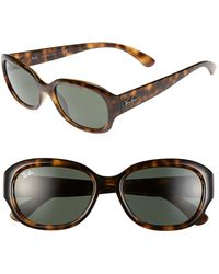 Ray-Ban Highstreet 54mm Sunglasses - Lyst
