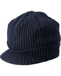Uniqlo Cashmere Blended Brimmed Cap - Lyst