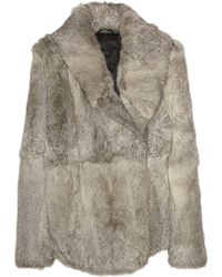 VEDA - Rhapsody Rabbit Coat - Lyst