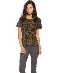 Addison - Printed T-Shirt - Lyst