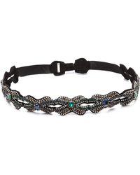 Deepa Gurnani - Crystal Infinity Link Belt - Lyst