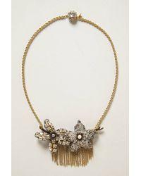 Tataborello - Fringed Magnolia Necklace - Lyst