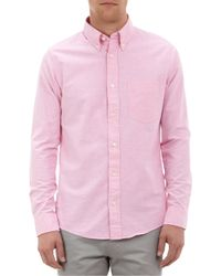Jack Spade - Solid Oxford Shirt - Lyst