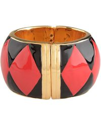 Moschino Bracelet red - Lyst