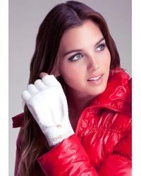 Bebe - Baby Fur Convertible Gloves - Lyst