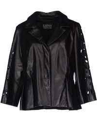 Fontana Couture Leather Outerwear - Lyst