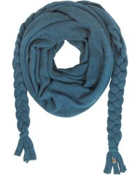 Patrizia Pepe - Wool Blend Knit Wrap - Lyst