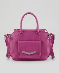 Time's Arrow - Mini Jo Luggage Tote Bag Magenta - Lyst