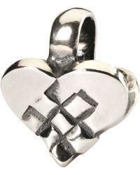 Trollbeads - Christmas Heart Bead - Lyst