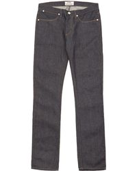 Acne Studios Max Raw Slim-Fit Jeans L34 - Lyst